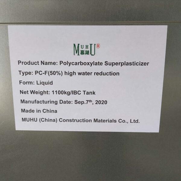 Polycarboxylate Superplasticizer PC-F