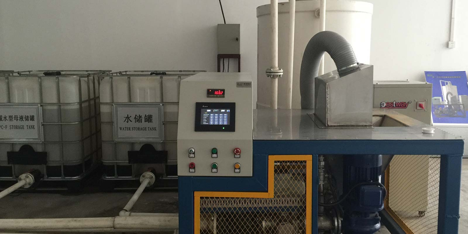 Automatically Controlled Blending Unit