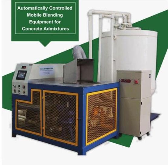 Equipment For Concrete Admixtures