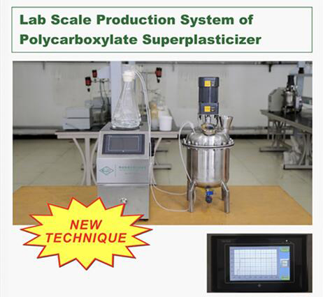 Lab Scale Production System For Polycarboxylate Superplasticizer