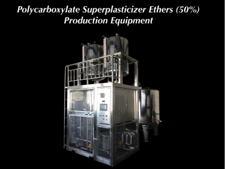 Polycarboxylate Superplasticizer Ethers